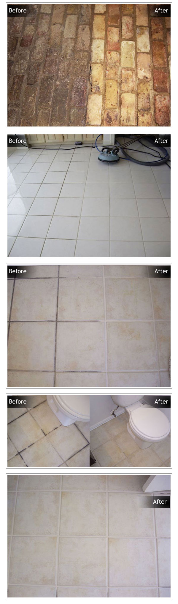 Tile & Grout Cleaning in South Lake TX